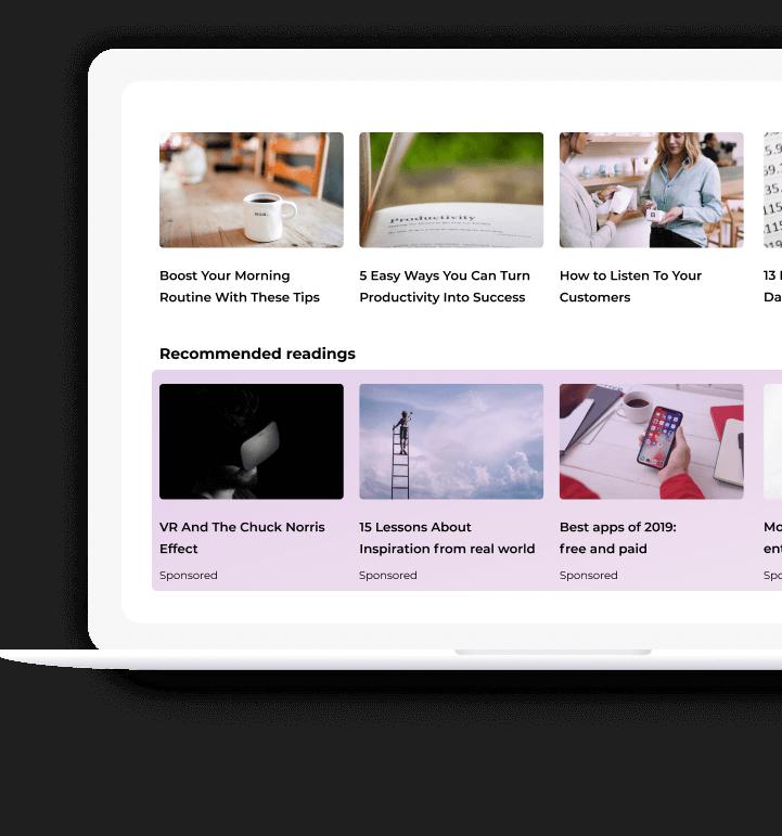Programmatic Native Advertising Platform — SmartyAds