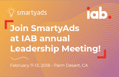 Join SmartyAds at IAB Annual Leadership Meeting