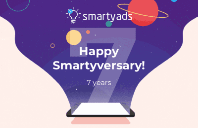 Happy 7th Birthday SmartyAds: Time to Celebrate!