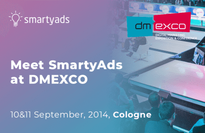 Meet SmartyAds at DMEXCO