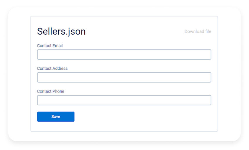 sellers.json option
