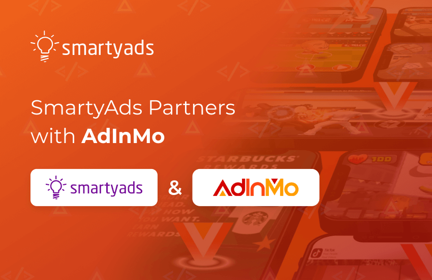 New Collaboration: AdInMo & SmartyAds Open New in-Game Horizons
