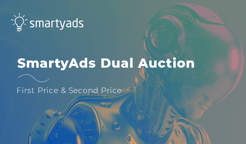SmartyAds Dual Auction: Soft Transition towards First-Price Auctions