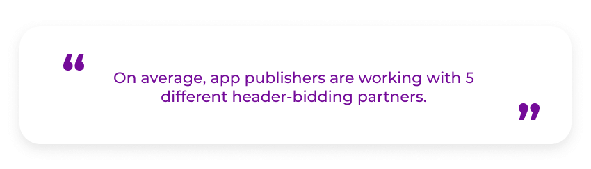 header bidding wrapper partners
