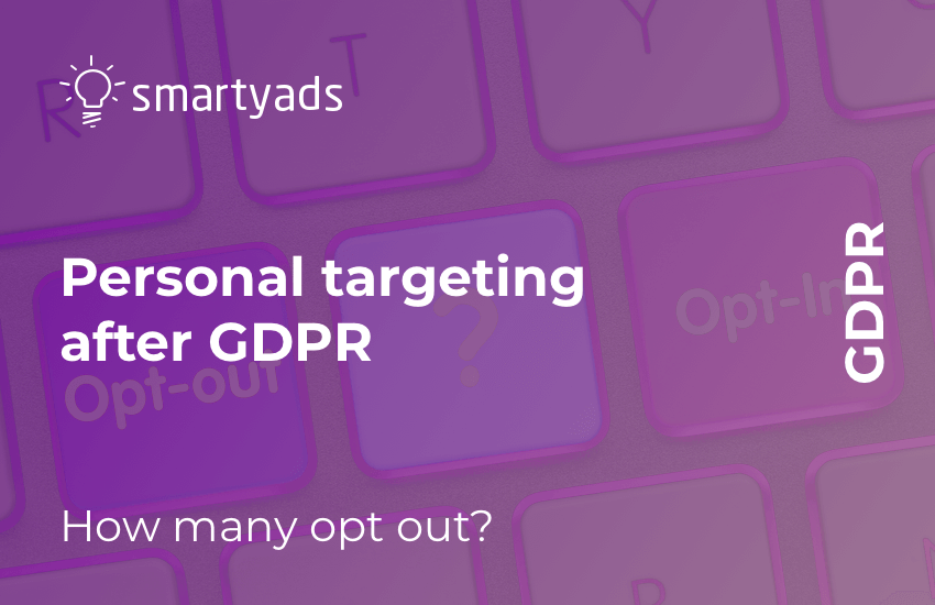 GDPR and Personal Targeting: Do People Opt out More Often?