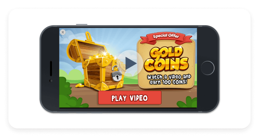 Rewarded video ads