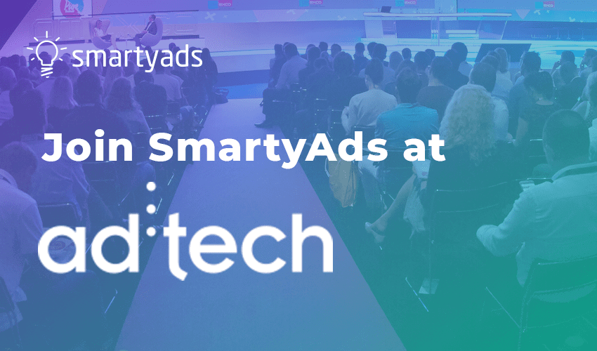 Join SmartyAds at Ad:tech 2016