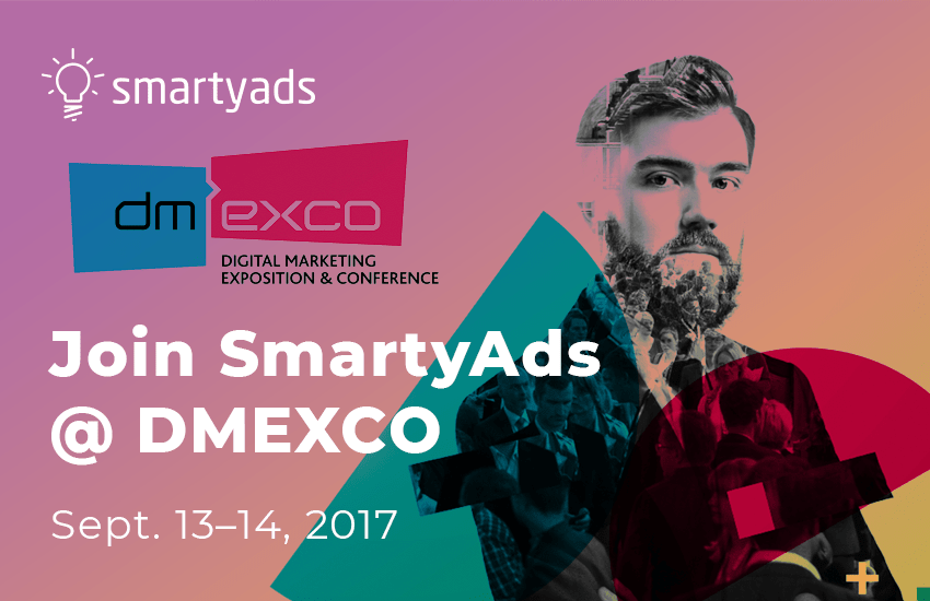JOIN SMARTYADS @ DMEXCO 2017