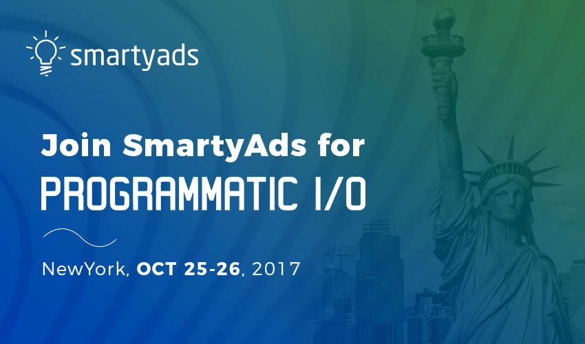 Join SmartyAds at PROGRAMMATIC I/O