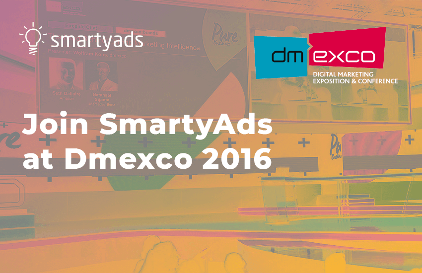 Join SmartyAds at Dmexco 2016!