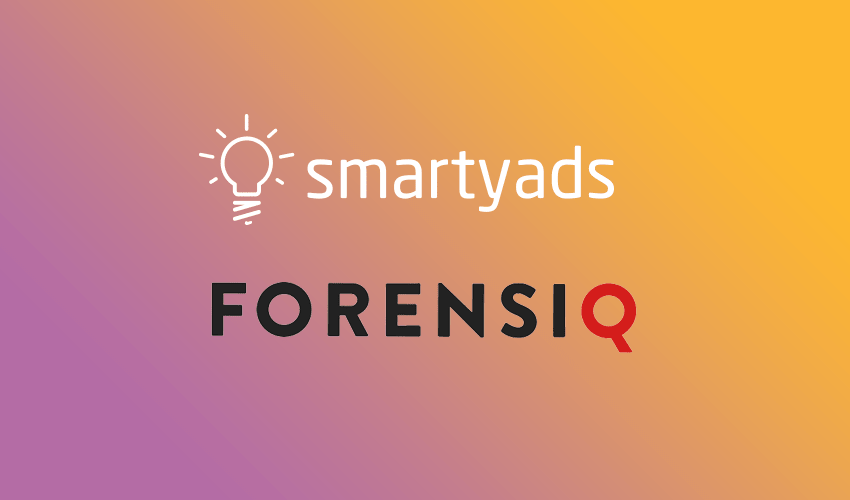 SmartyAds partners with Forensiq to combat fraudulent inventory