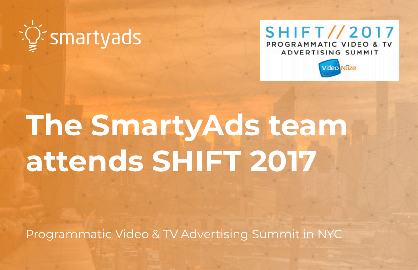 The SmartyAds team attends SHIFT 2017