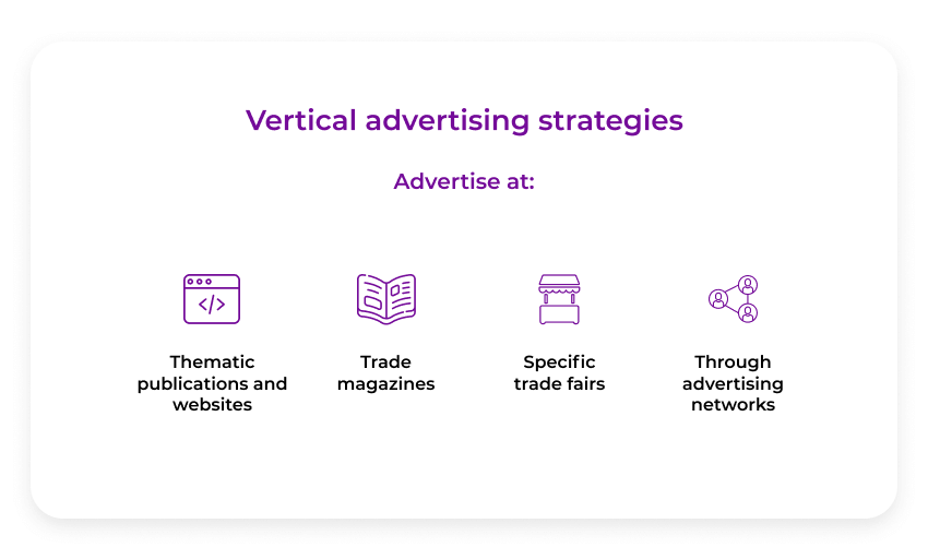 vertical advertising strategies